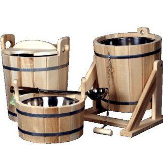 Бондарные изделия и аксессуары для бани