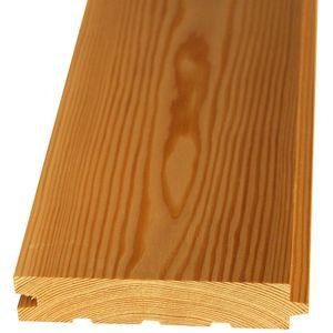 Доска пола, Лиственница, шпунт, 35x117(110)